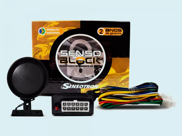 Moto Bloqueador Microcontrolado de Presença - SENSOblock